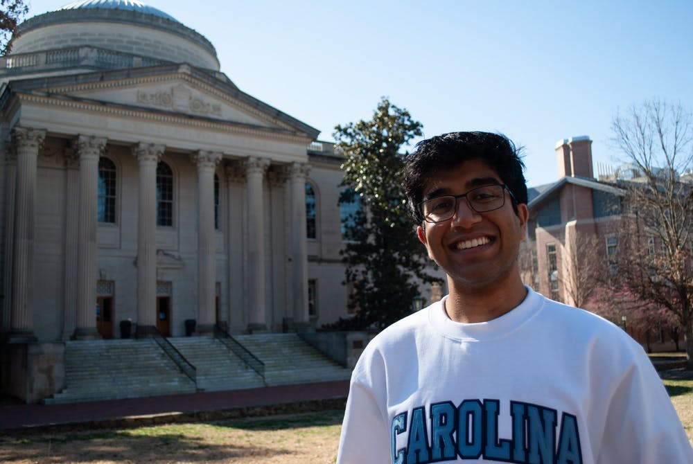 "<p>Junior political science and economics major Keshav Javvadi explains his motivation behind running for Student Body President. ""Having seen the flaws within student government, I wanted to take initiative and truly make student government a way to advocate for and represent all students at Carolina.""</p>"