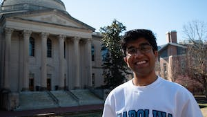 """Junior political science and economics major Keshav Javvadi explains his motivation behind running for Student Body President. """"Having seen the flaws within student government, I wanted to take initiative and truly make student government a way to advocate for and represent all students at Carolina."""""""