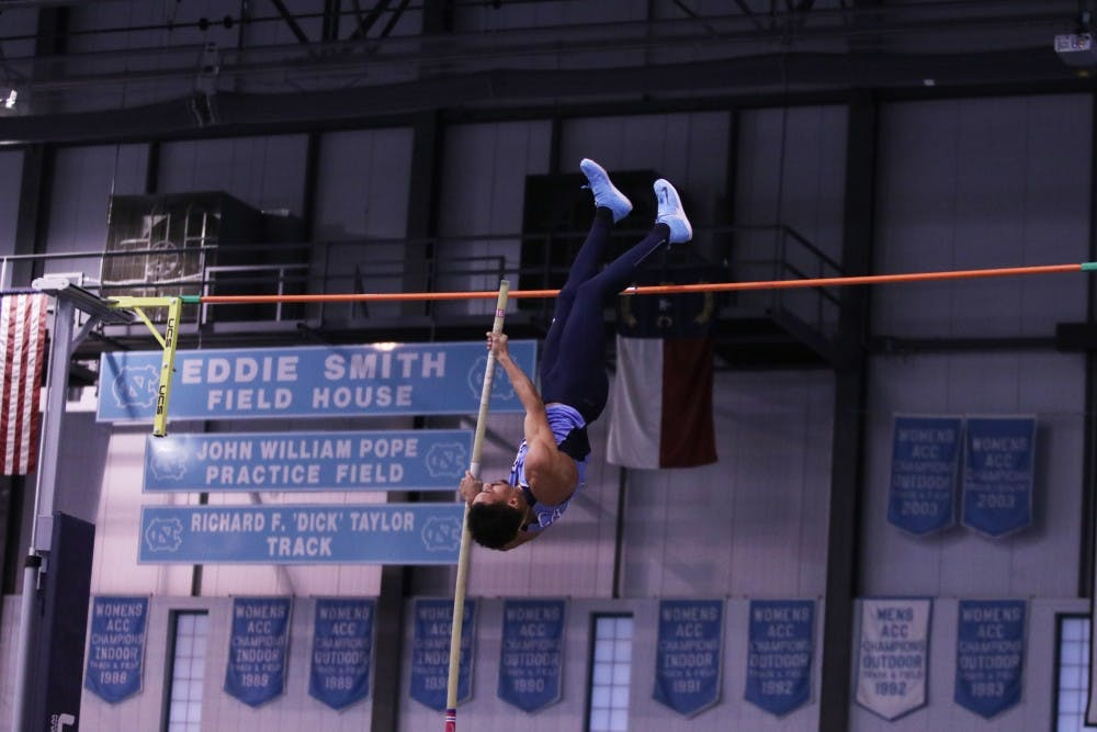 Young talent shines for UNC track and field in Weems Baskin Invitational this weekend