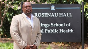 OJ McGhee is the Instructional Media Services Manager in the Gillings School of Public Health.