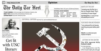 The current opinion page.