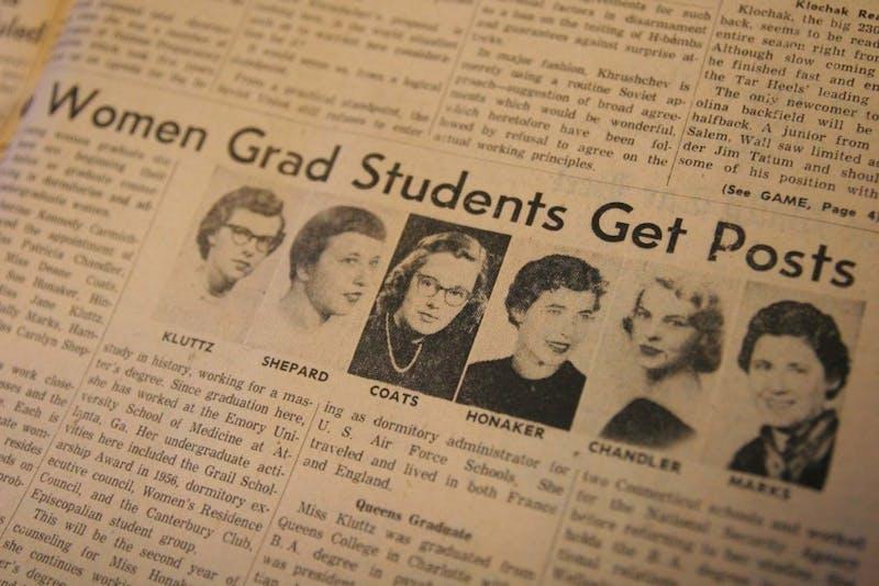 Women Grad Students Get Posts