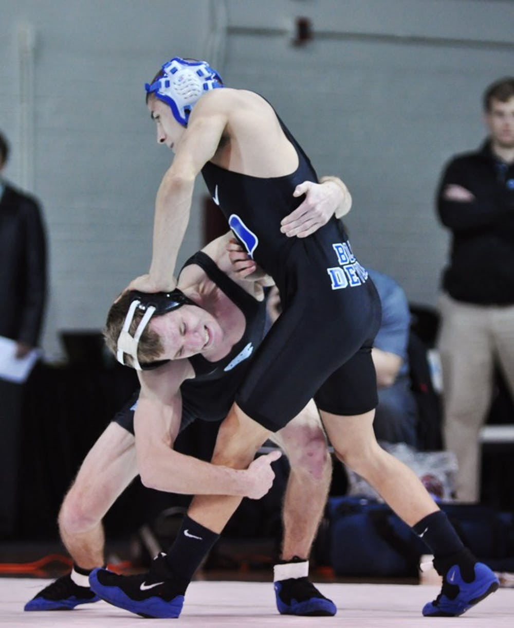 UNC wrestling meet defined by close matches