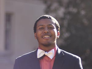 SBP Candidates Maurice Grier, a junior and political science major.