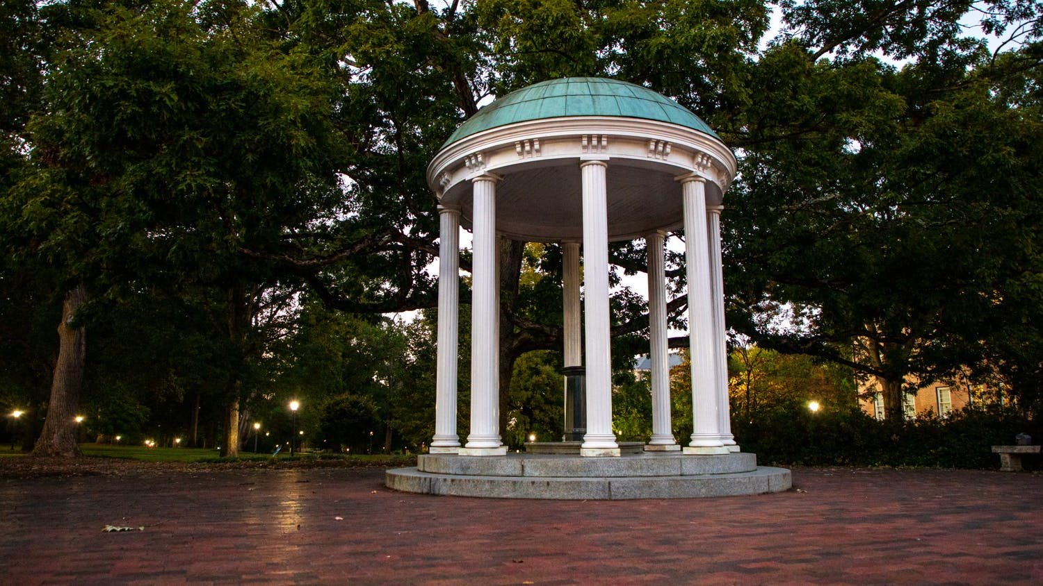 The Old Well is pictured on Oct. 17, 2021.