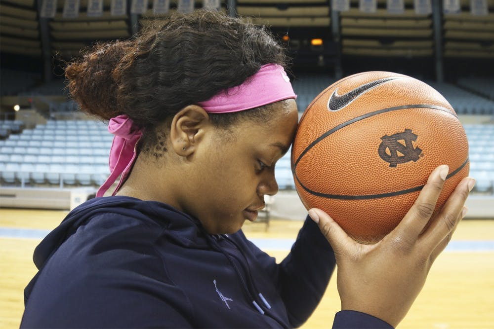 UNC women's basketball player McDaniel finds the beast within