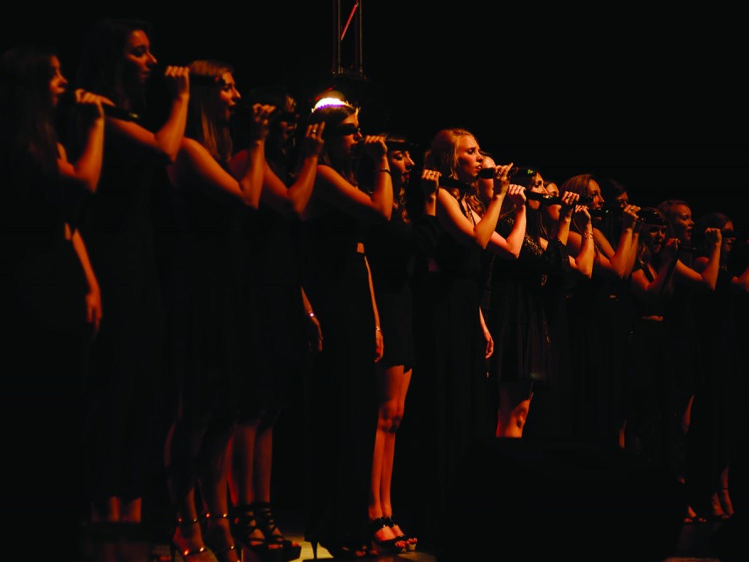 The Loreleis, which began as an a capella group with just eight members, celebrated their 35th anniversary with a performance.