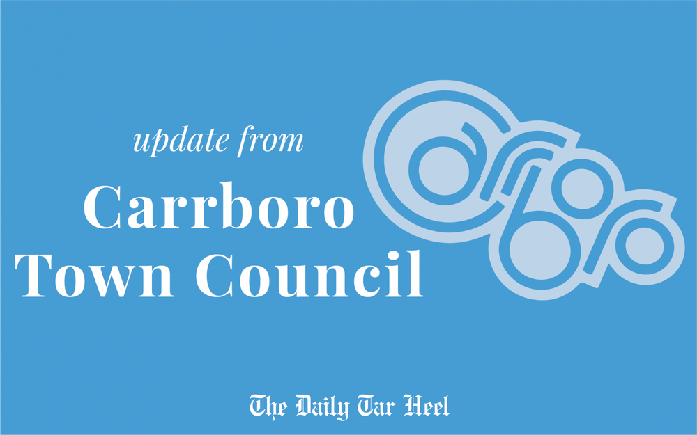 Updates for 203 Project presented at Carrboro Town Council meeting