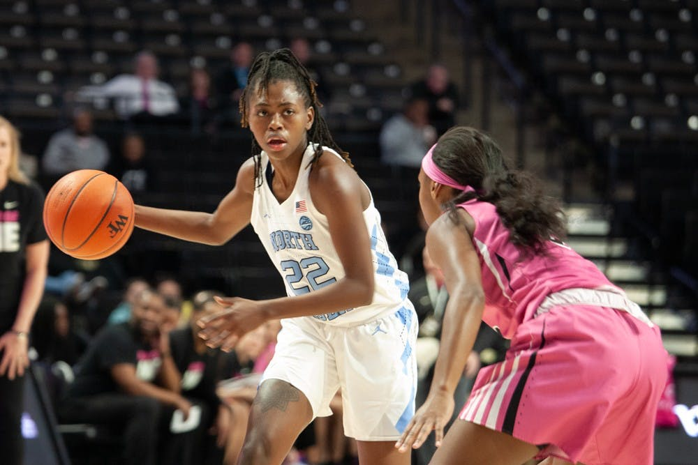 UNC women's basketball, just seconds away from a win, loses to Wake Forest in OT