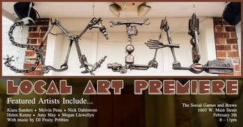 Social Games and Brews will be hosting its Local Art Premiere on Friday, Feb. 7, 2020. The event will feature the work of various Durham artists. Photo courtesy of Kyle Benjamin.