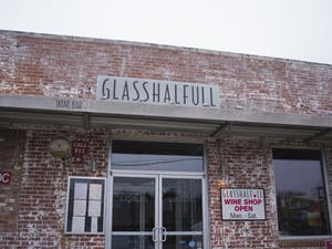 Glasshalfull, a restaurant and wine shop in Carrboro, NC, donates portions of profits on Tuesday and Wednesday nights.