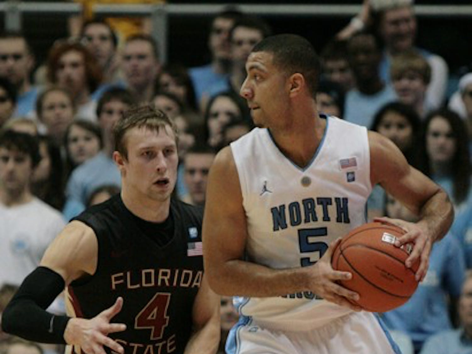 Kendall Marshall scored nine points and dished out a UNC freshman record 16 assists against Florida State. He played more minutes on Sunday following Larry Drew II's departure.