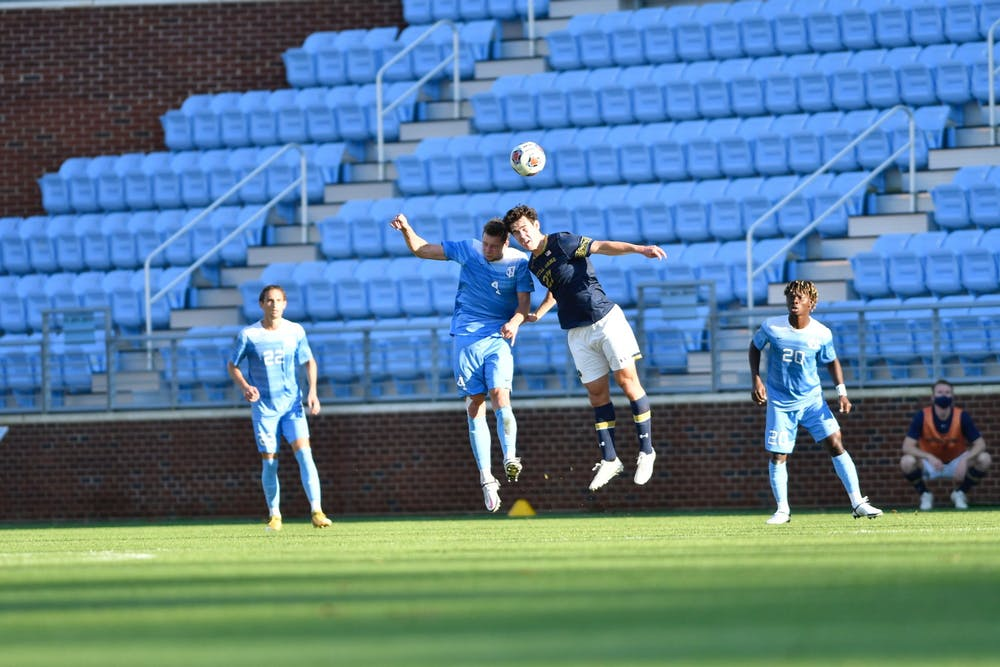 Notre Dame's game-winning overtime goal knocks UNC men's soccer out of ACC Tournament