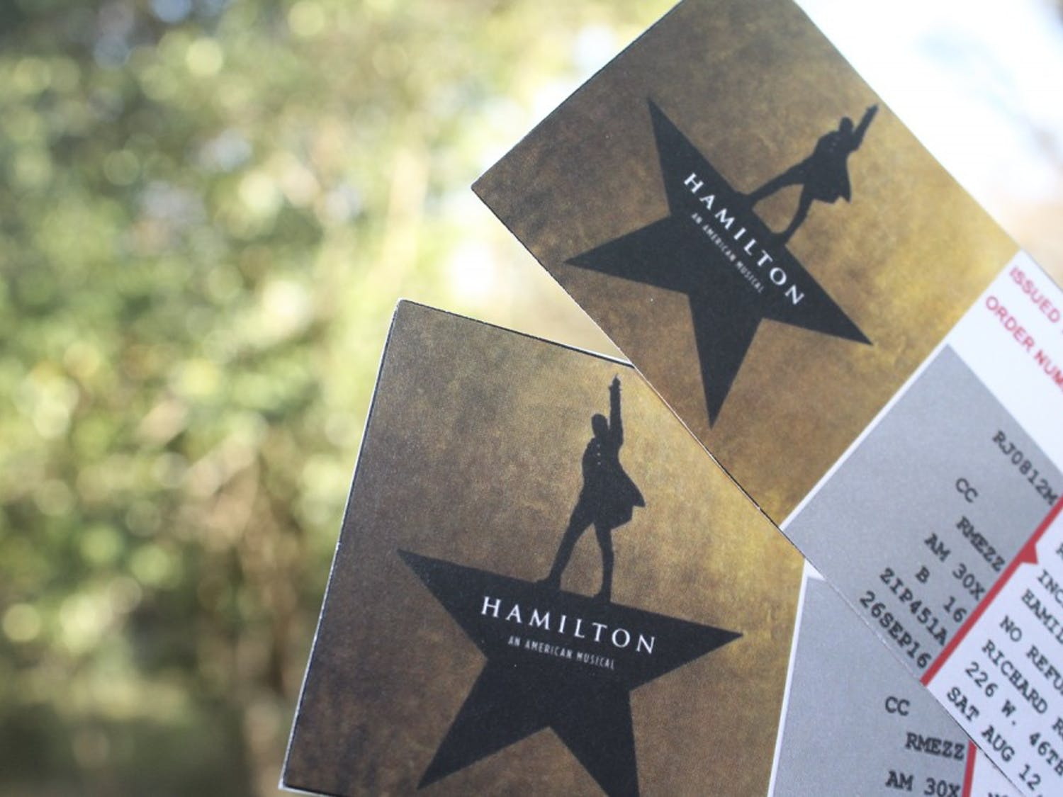 Hamilton the Musical will be showing in the Durham Performing Arts Center starting in the fall of 2018.