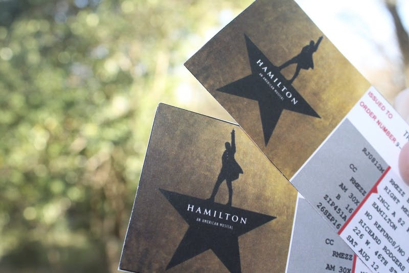 Hamilton theMusicalwill be showing in the Durham Performing Arts Center starting in the fall of 2018.