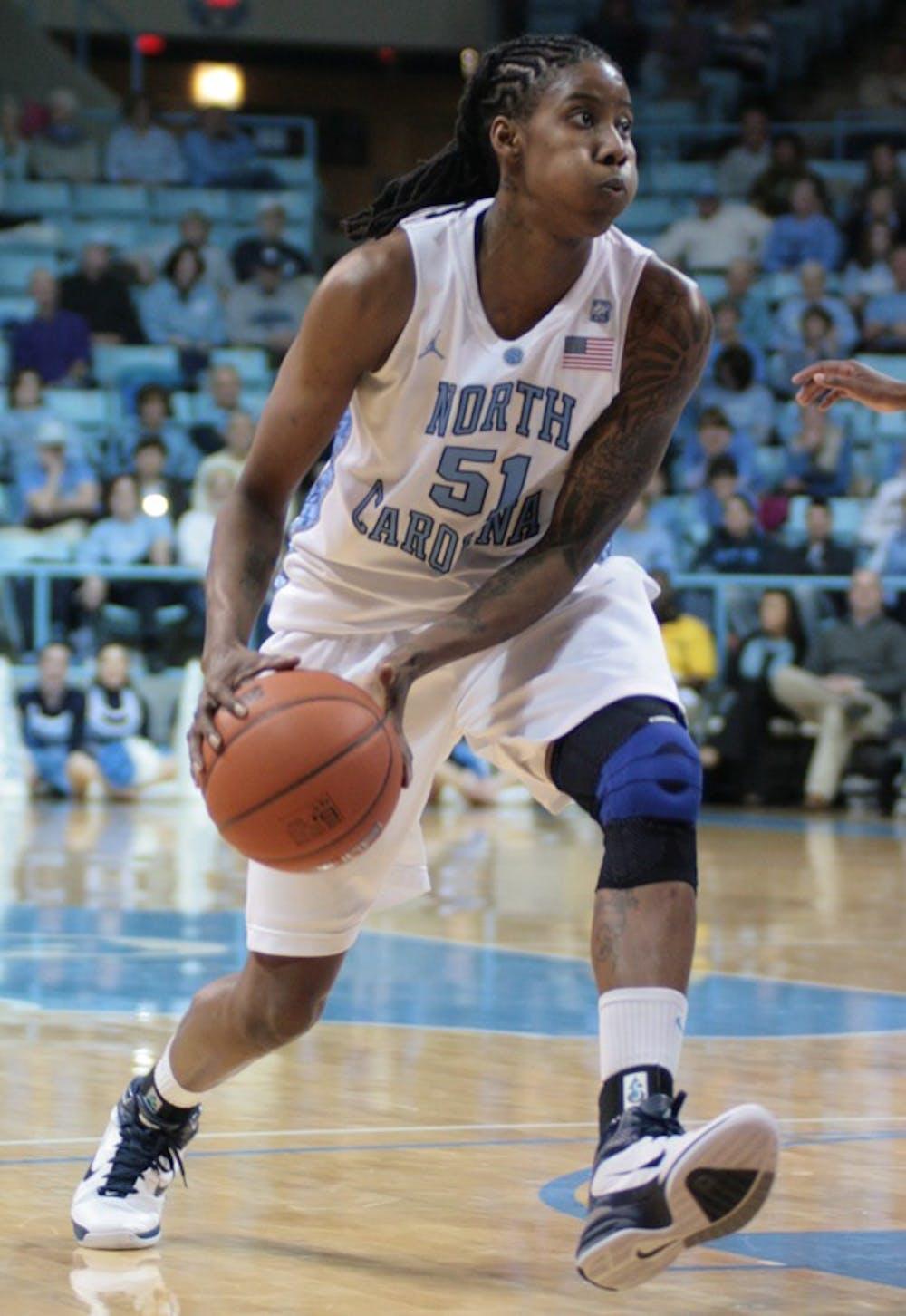 UNC's Jessica Breland, Italee Lucas taken in WNBA draft