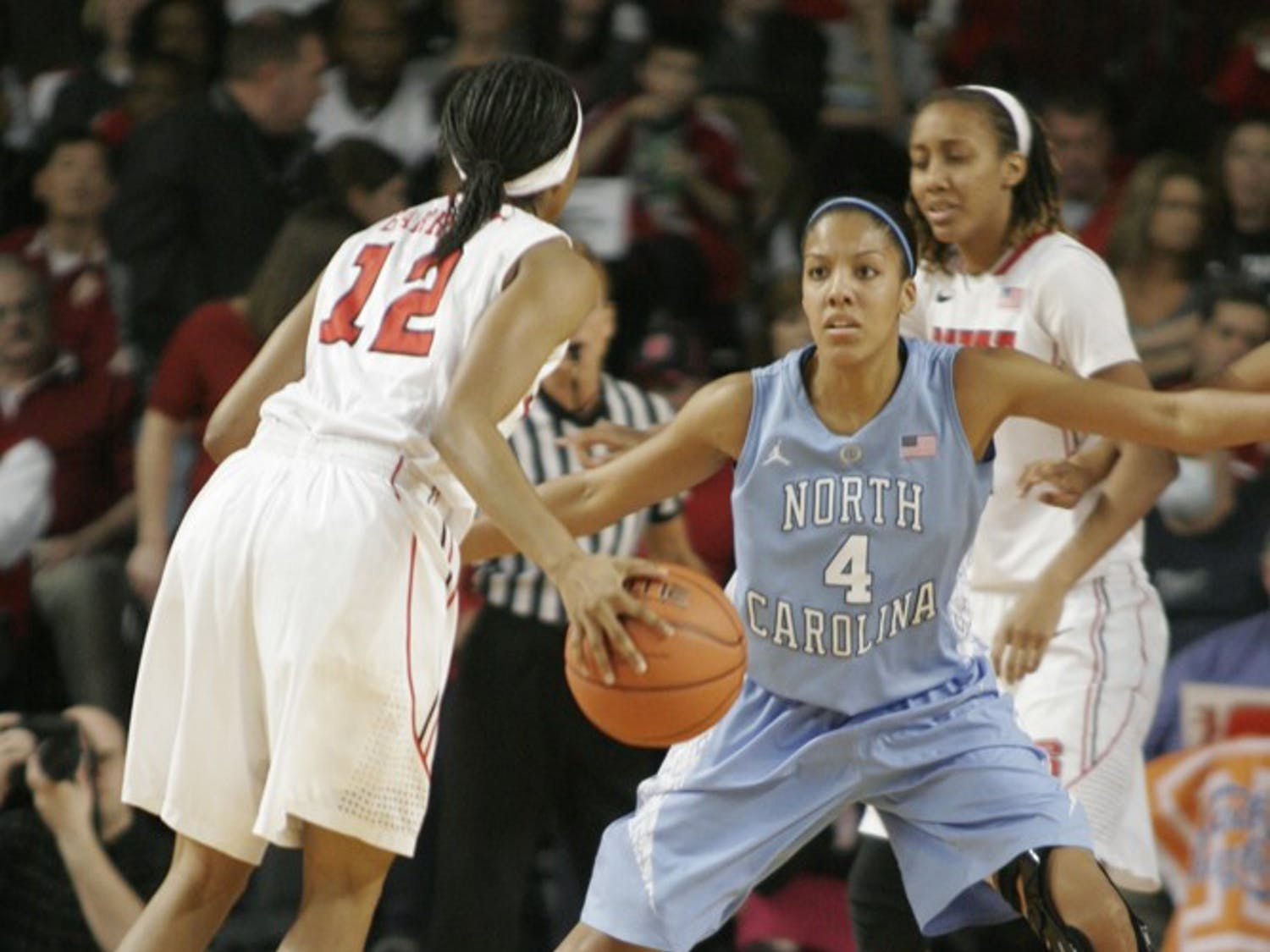 Womens basketball against NC State