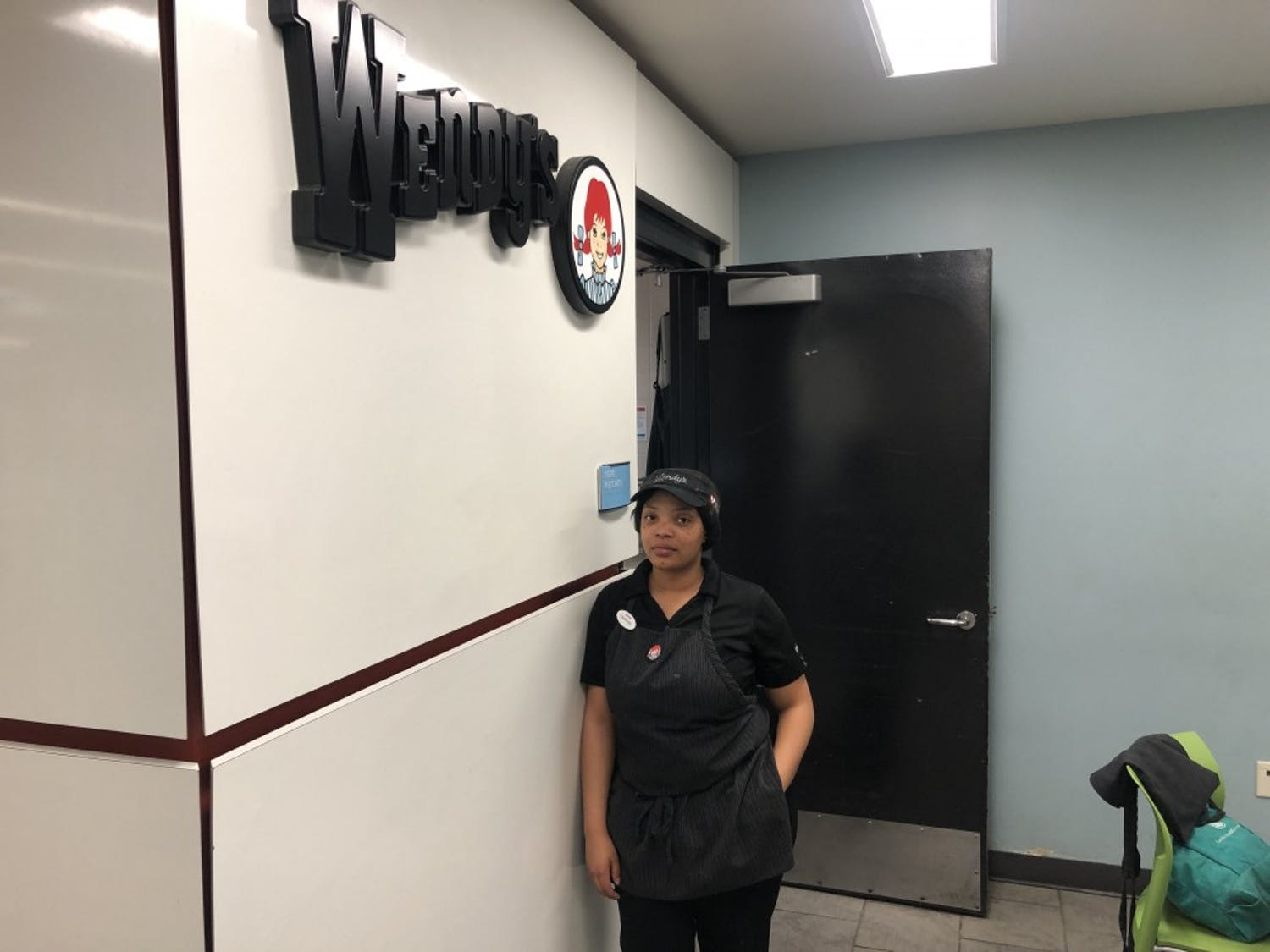 Wendy's night shift employee, Chantel Benjamin said she would have to look for another job because of the weeknight parking fee.