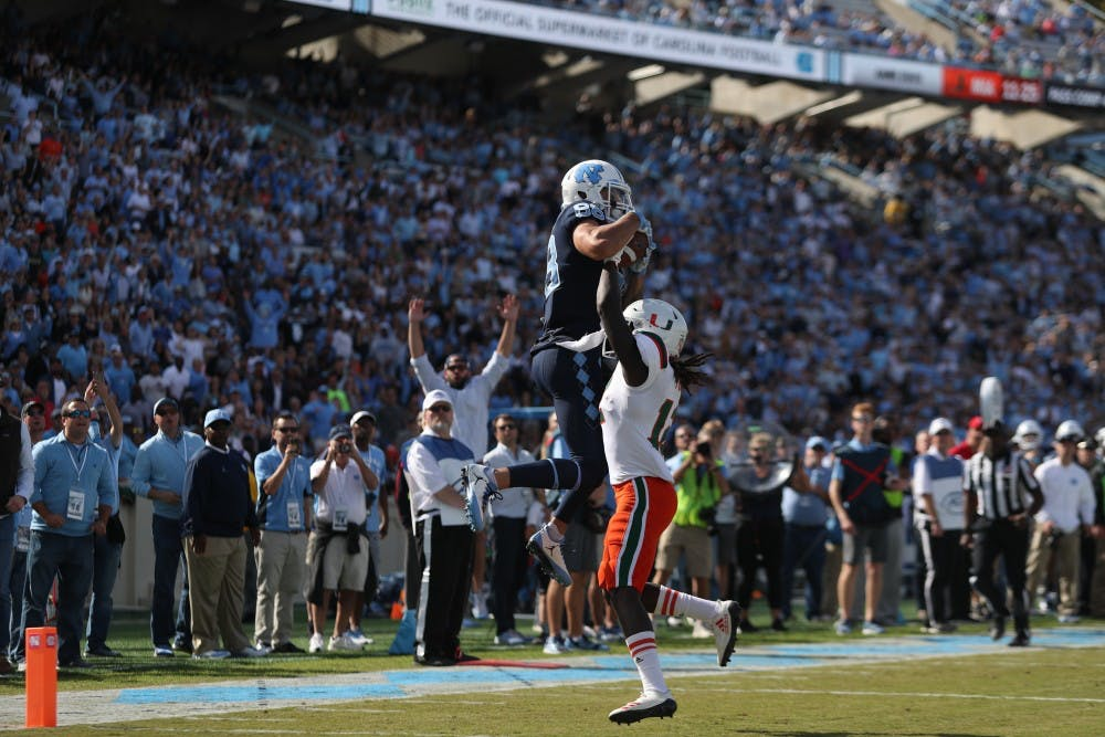 Preview: UNC football plays Western Carolina in final home game this Saturday