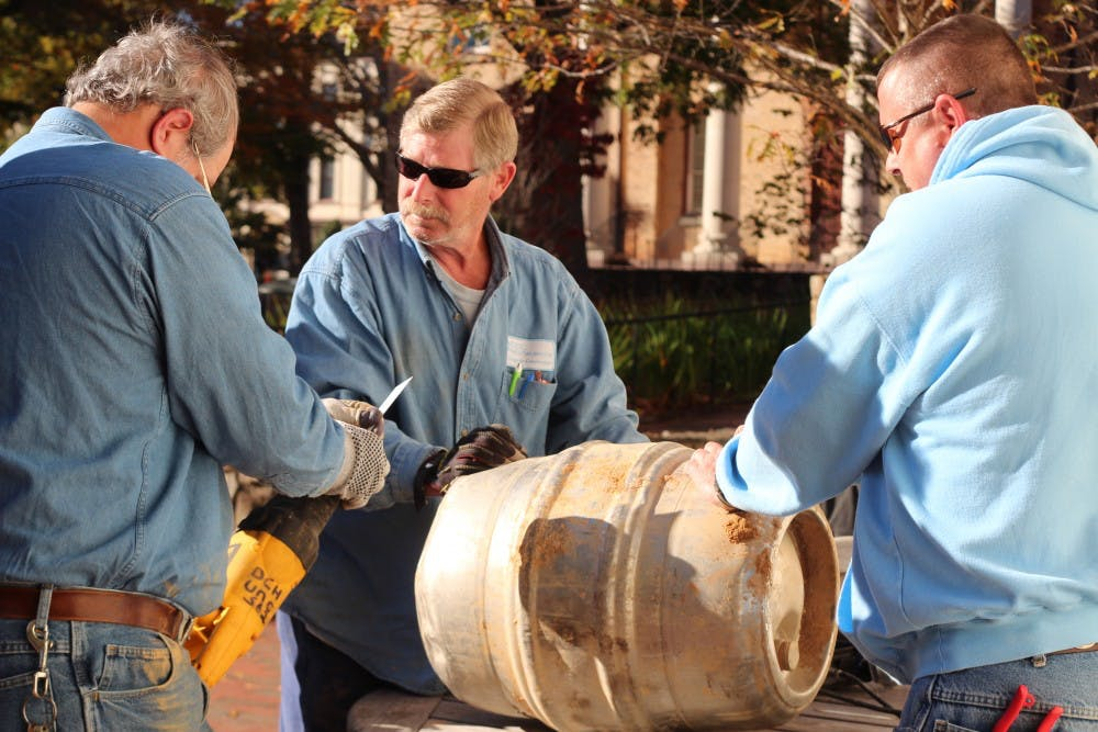 A 1988 UNC student time capsule opened