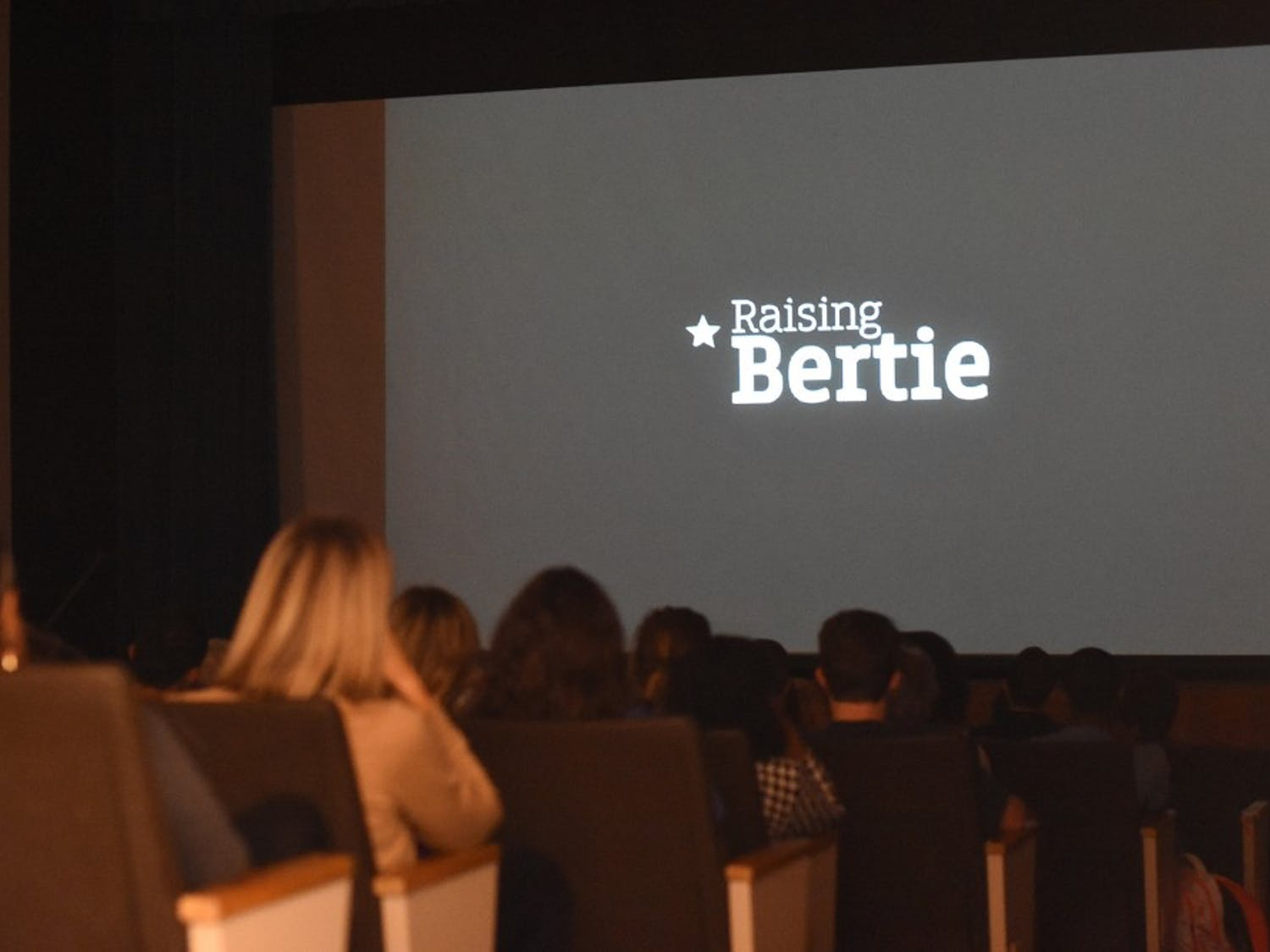 The screening of the documentary, Raising Bertie, the night before UNC SWEAT's Rural Sustainability Summit.