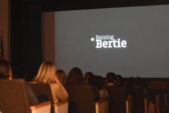 The screening of the documentary, Raising Bertie, the night before UNC SWEAT's Rural Sustainability Summit.