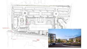 The Chapel Hill Town Council approved the Aura development in late June. Photo courtesy of the Town of Chapel Hill.