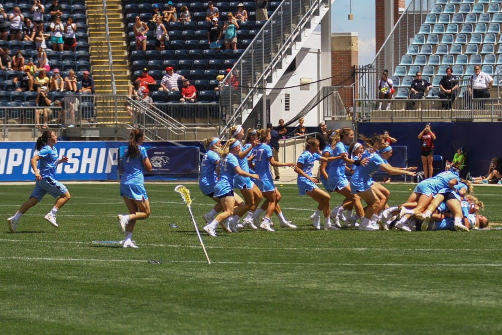After national championship, women's lacrosse team takes time to celebrate