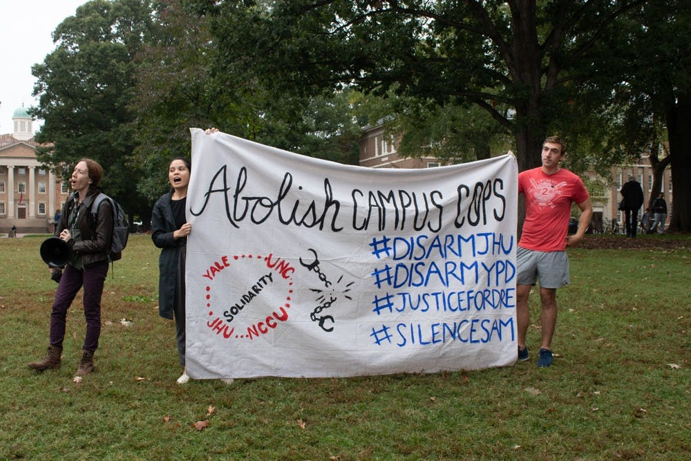 Anti-abortion exhibit spurs counterprotests from campus activists