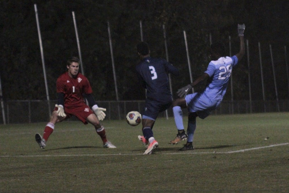 UNC men's soccer advances to Elite Eight with win over SMU, 2-0
