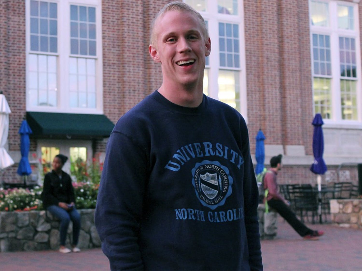 Michael Thornburg is a senior majoring in political science.  He started rapping after graduating high school; he often finds motivation in emotional struggle.