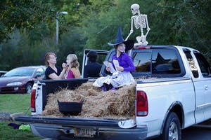 "The Town of Chapel Hill Parks and Recreation Department hosted its second annual ""Haunted H.A.C."" which featured a trunk or treat."