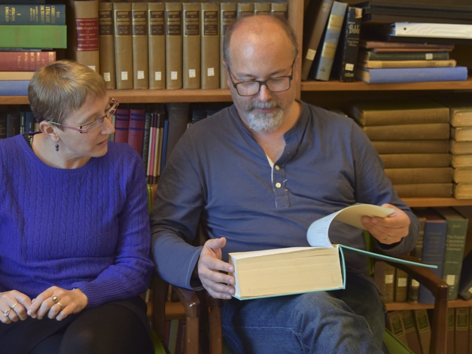 Jessica Wolfe (Director of Comparative Literature