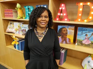 Author Kelly Starling Lyons is 2021's Piedmont Laureate, a program co-sponsored by the City of Raleigh Arts Commission, Durham Arts Council, Orange County Arts Commission and United Arts Council of Raleigh & Wake County. Photo courtesy of Melissa R. Campbell.