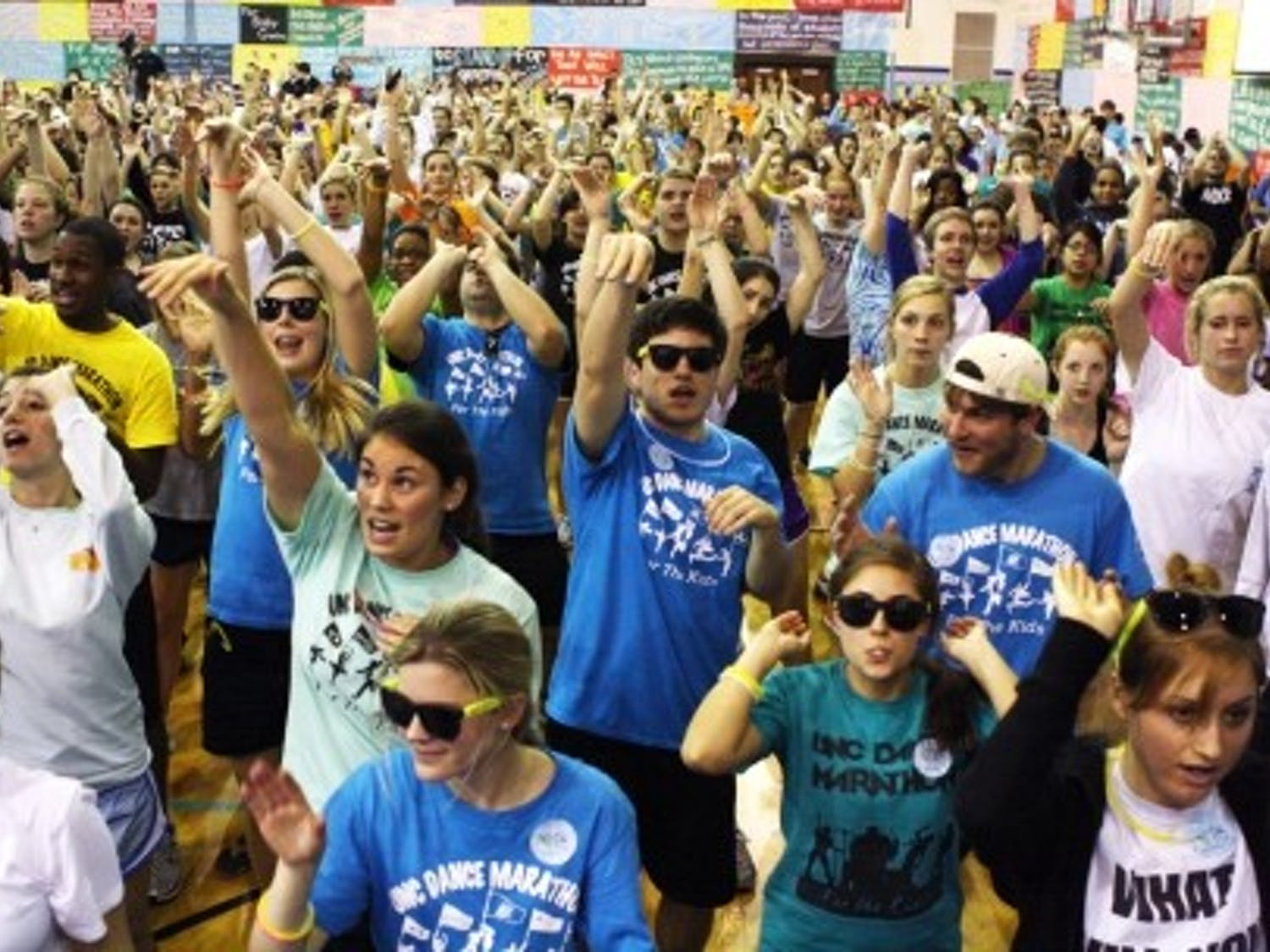 These participants in a 2011 Dance Marathon probably wish they had some tunes as sweet as these.