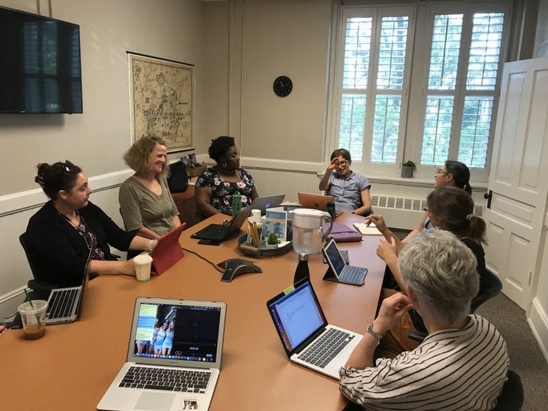 The Committee on the Status of Women met Wednesday to discuss the gender pay gap.