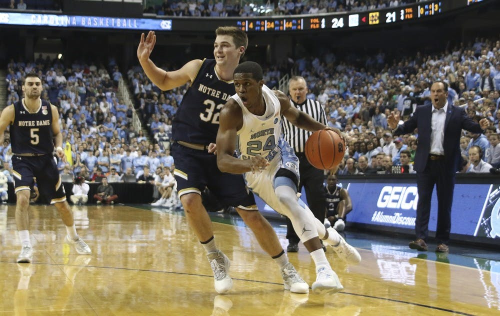 Kenny Williams' status unknown for UNC men's basketball's game at NC State