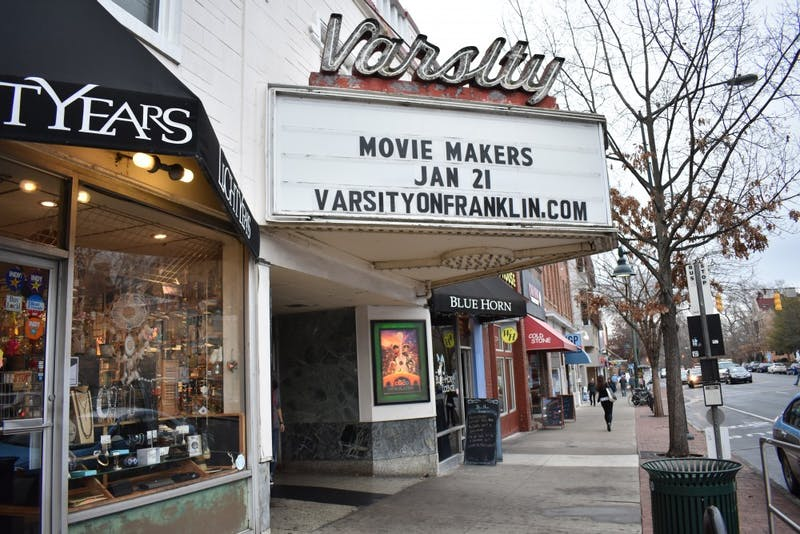 The Varsity Theatre on Franklin St. will be showing new movies this season.