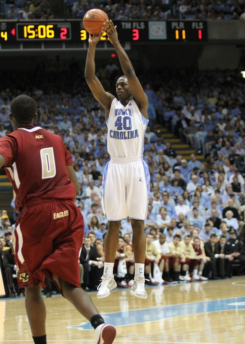 UNC played the the Boston College Eagles on Saturday, February 19 at the Smith Center