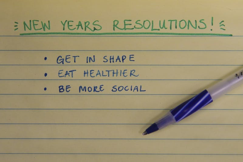 Psychologists say that support groups and visualizing your goal will help you fulfill resolutions.