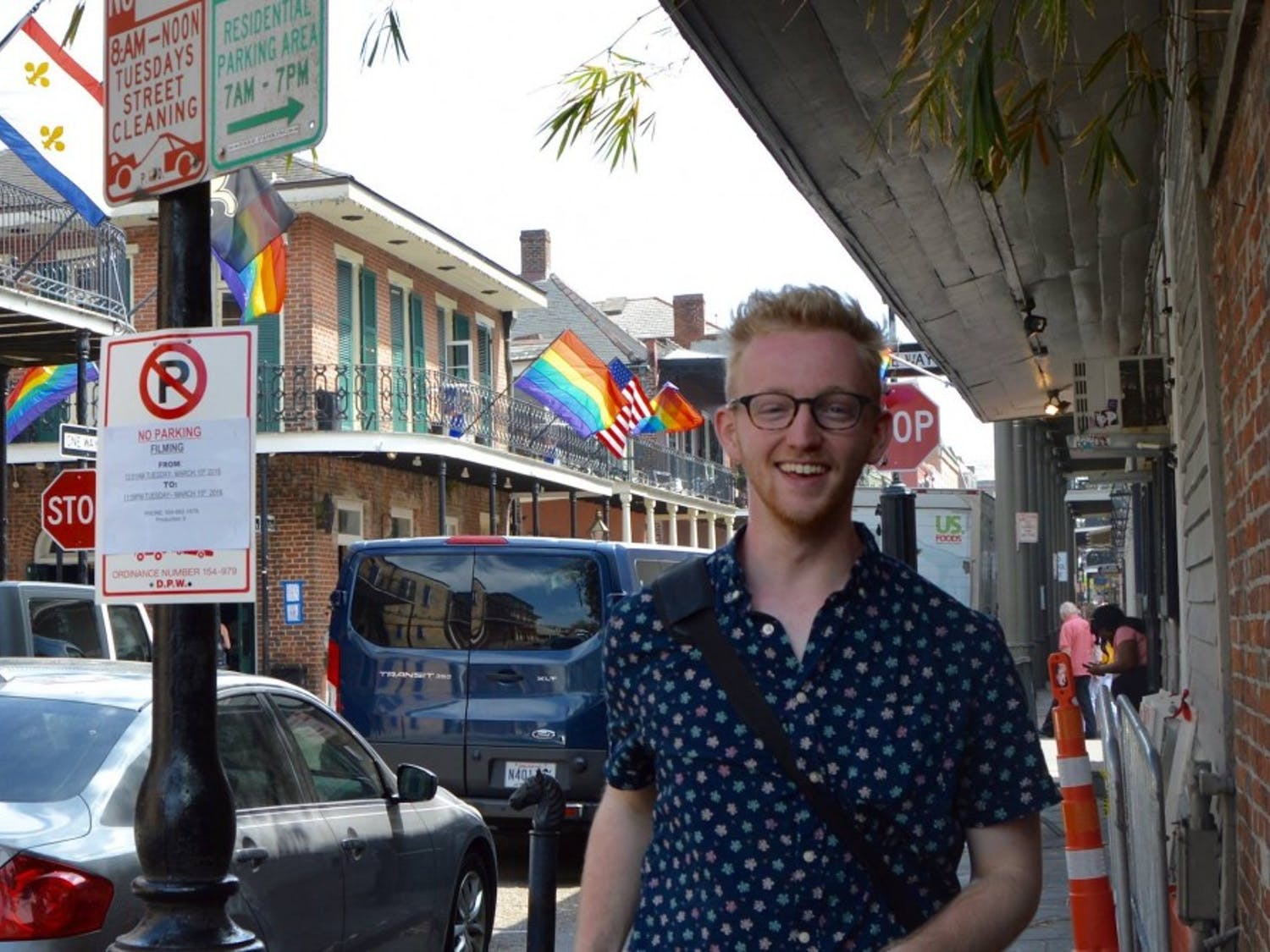 Online managing editor Danny Nett doin' some queer stuff in New Orleans, 2016