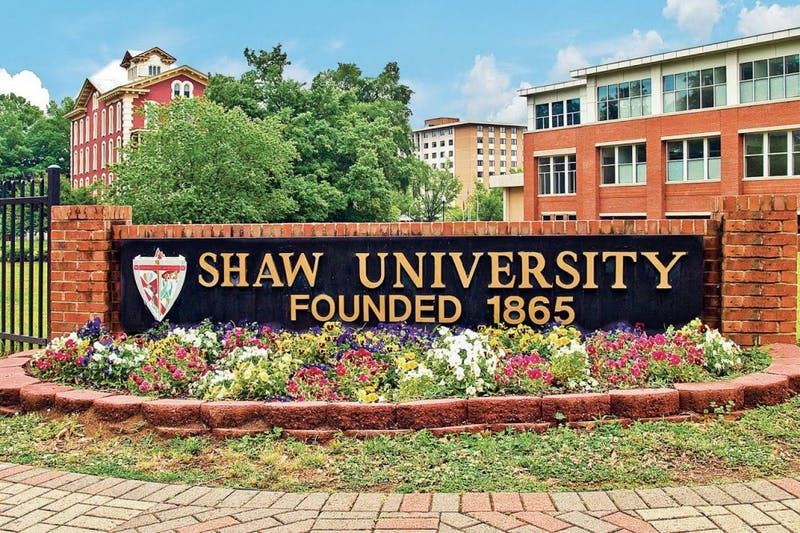 Shaw University, founded in 1865, is located in Raleigh. Shaw is the oldest historically black college in the South. Photo courtesy of Renee Sadler.