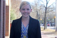Hilary Delbridge, alumna of UNC, is the newest addition to the Office of Equal Opportuinity. She is the Title IX Coordinator