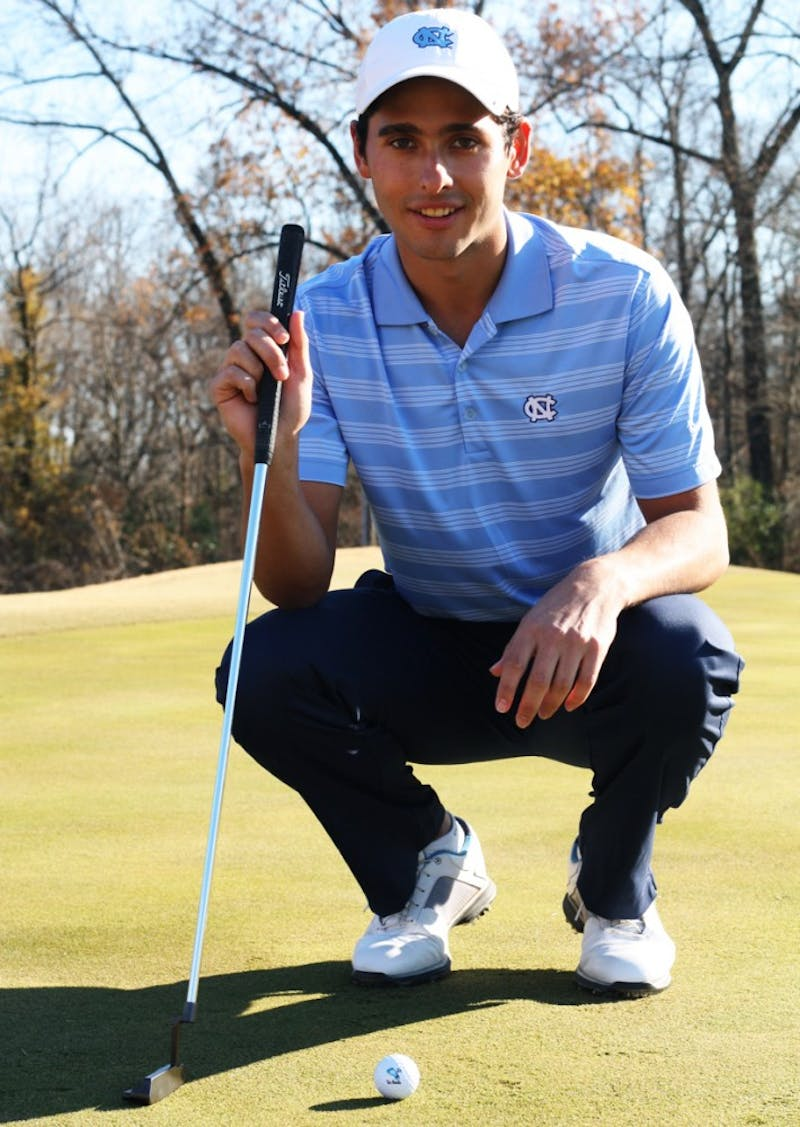 """My granddad introduced me to golf when I was 11 and when I went back to South Africa to visit I would play  with him,"" said Keagan Cummings, freshman, Exercise and Sports Science major.