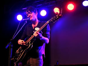 Peter Vance of Happy Abandon playing at Cat's Cradle on Sat. March 5