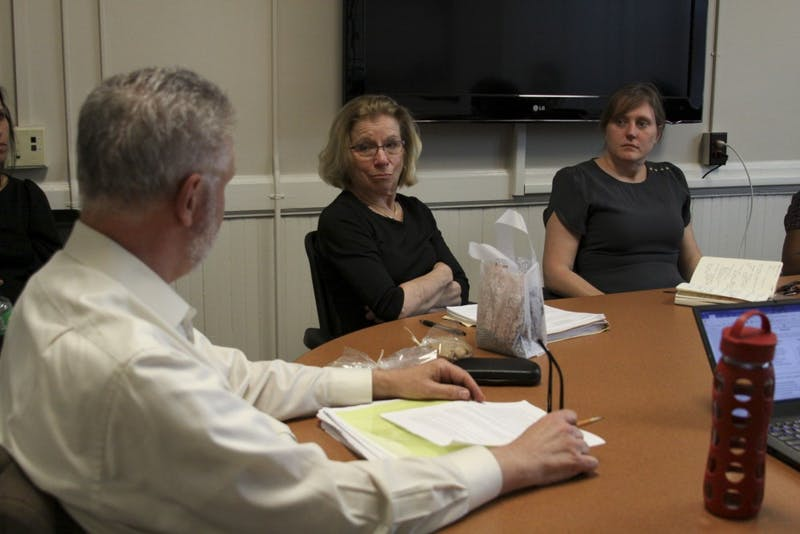 UNC-Chapel Hill's faculty-based Committee for the Status of Women convened in Carr Building to discuss women's and gender issues on and off campus for employees on April 19.