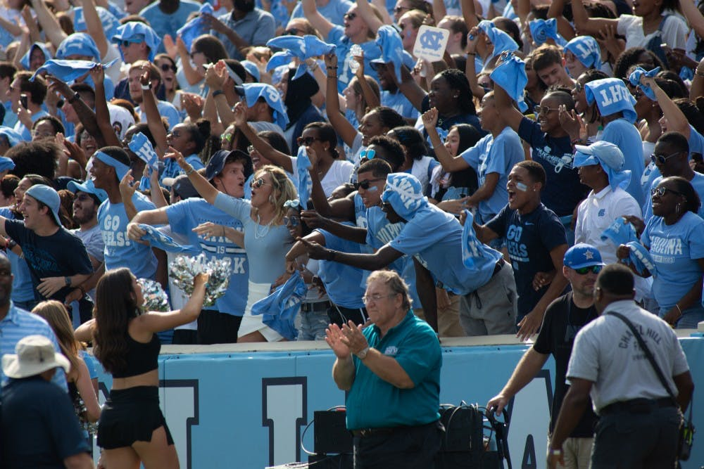 Explaining UNC's student athletic ticket system