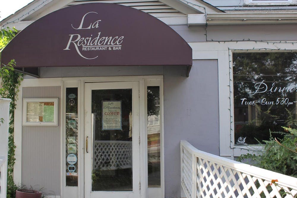 La Residence to reopen in January after kitchen fire