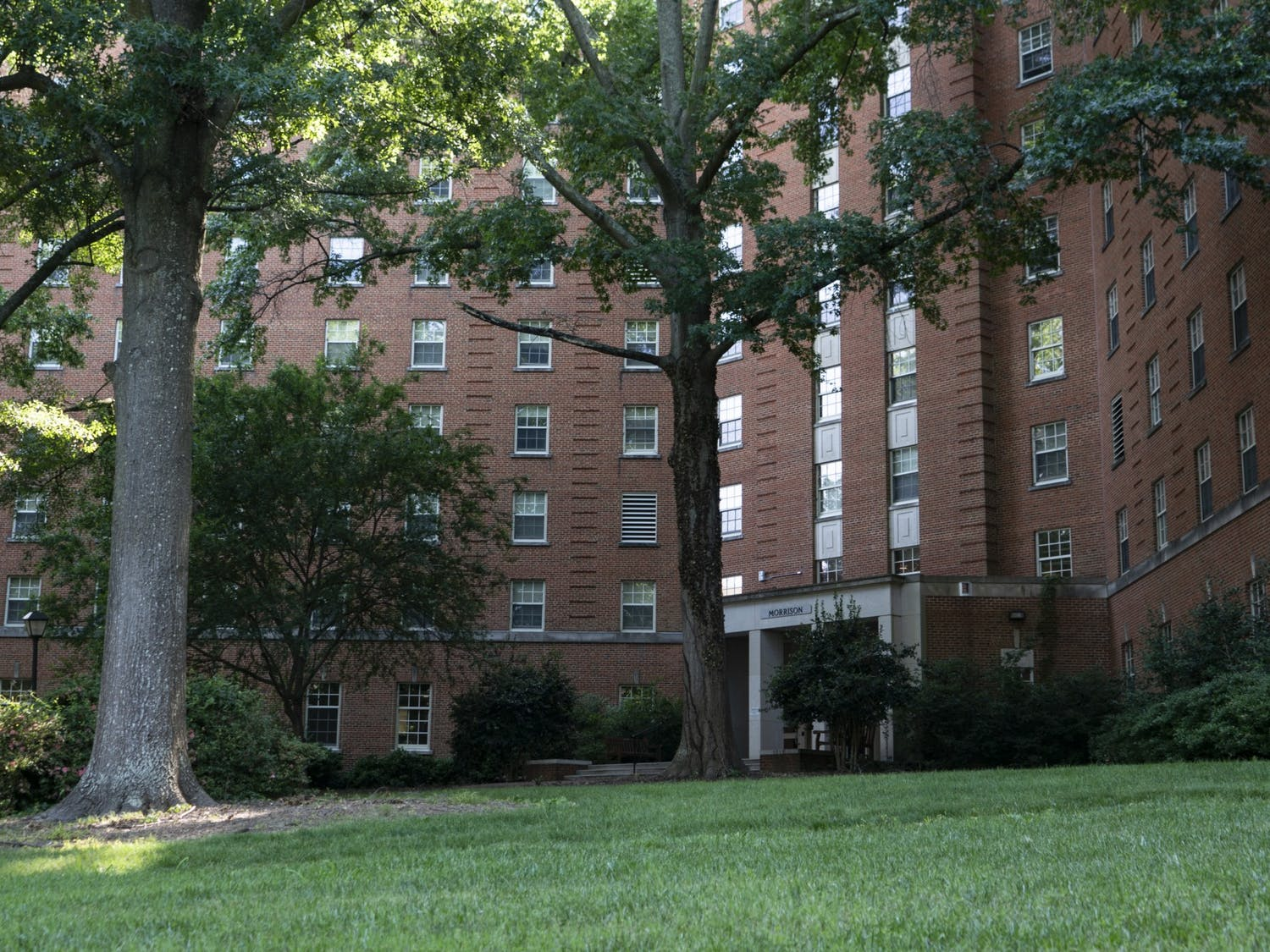 Morrison Residence Hall as pictured on Sunday, June 6, 2020.