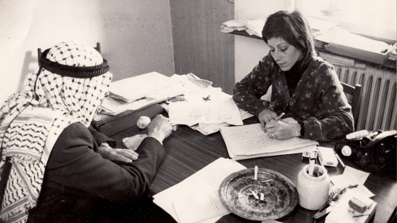 Advocate, a portrait of Israeli human rights lawyer Lea Tsemel, will be shown as part of the REEL Israel Documentary Film Festival March 8 and March 12 at Chelsea Theater. Photo courtesy of Emily Kass.
